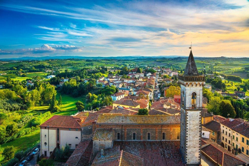 Village de Vinci en Italie