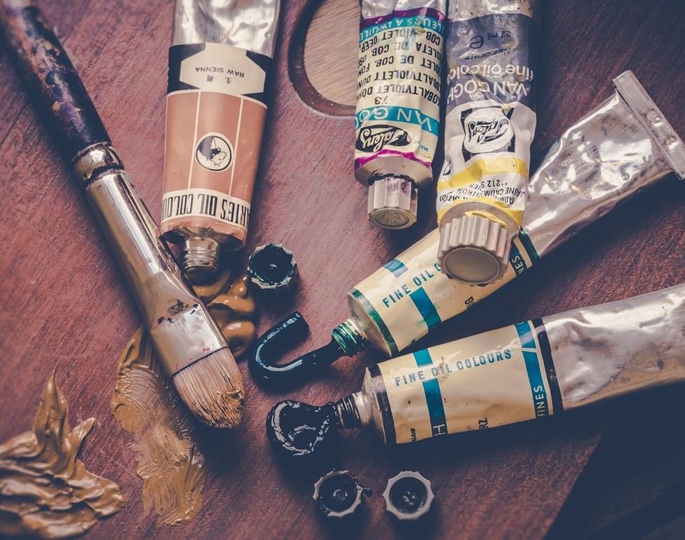 Peinture en tubes - photo @Ylanite Koppens_Pixabay