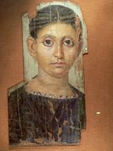 Portrait du fayoum -  jeune femme - Wikimediacommons