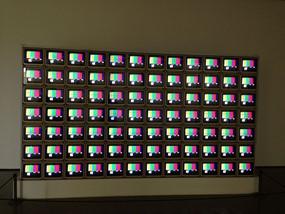 TSC color bar calibration (for Video Flag Z by artist Nam June Paik) photo wikimediacommons