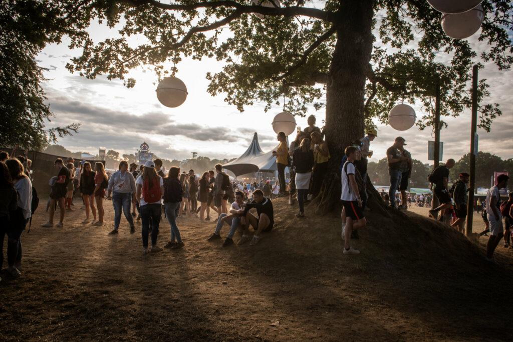 Ambiance de festival