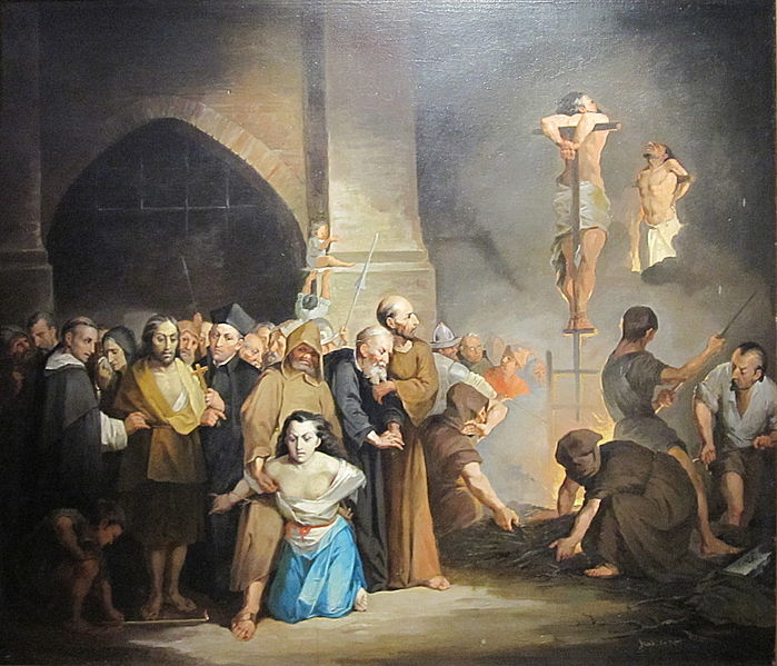 Joaquin Pinto, L'Inquisition (1842 – 1906)