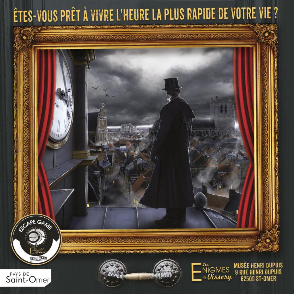 Les énigmes de Vissery, escape game à Saint-Omer