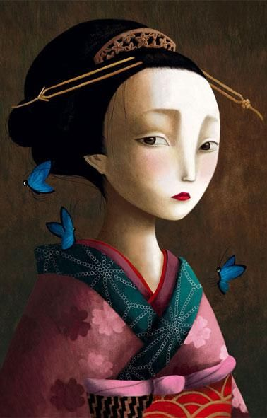 Extrait du livre  Esprits et créatures du Japon