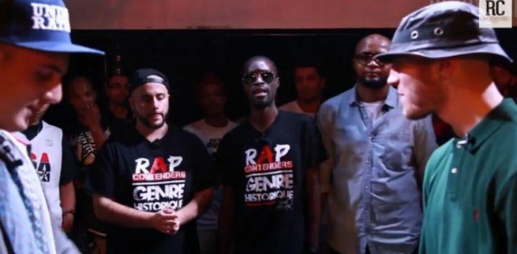 Battle de rap - Dony S et Stunner lors de la première édition des Rap Contenders