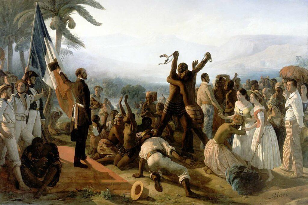 L'Abolition de l'esclavage dans les colonies françaises par François-Auguste Blard (1849)