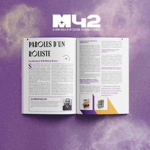 Vue de l'intérieur du livre M42 : Magie et Sorcellerie