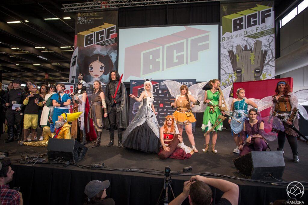 Costplay au Bordeaux GeekFest